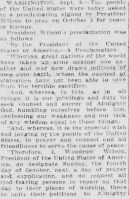 Woodrow Wilson Article p1